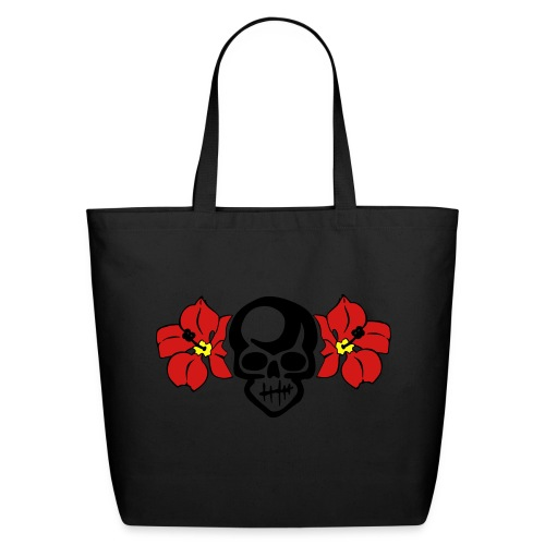 THE HULA SKULL by VAN TRIBE  - Eco-Friendly Cotton Tote