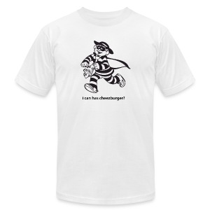 Cheezburglar - Men's T-Shirt by American Apparel