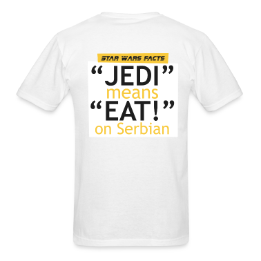 SW facts - Jedi means Eat on Serbian