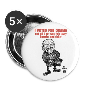 I Voted For Obama - Large Buttons