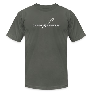 Chaotic Neutral - Men's T-Shirt by American Apparel
