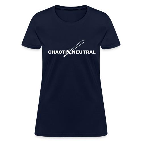 Chaotic Neutral - Women's T-Shirt
