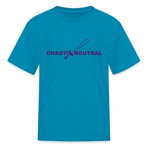Chaotic Neutral - Kids' T-Shirt