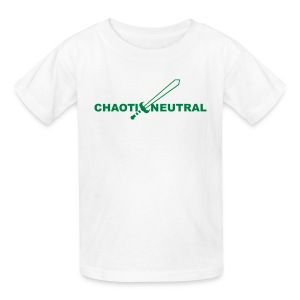 Chaotic Neutral - Kids' T-Shirt