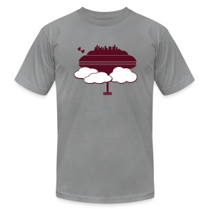 Cloud City - Men's T-Shirt by American Apparel