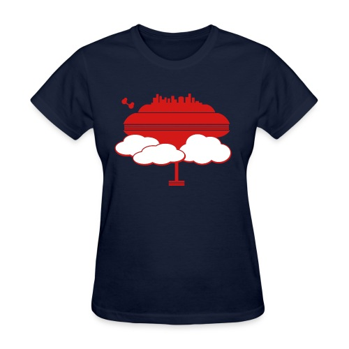 Cloud City - Women's T-Shirt