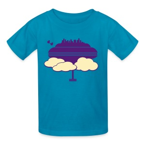 Cloud City - Kids' T-Shirt