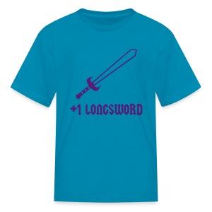 +1 Longsword - Kids' T-Shirt