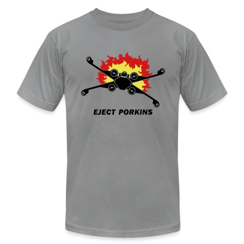 Eject Porkins - Men's Fine Jersey T-Shirt