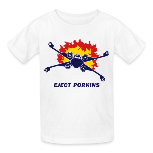 Eject Porkins - Kids' T-Shirt
