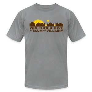 Wretched Hive - Men's T-Shirt by American Apparel