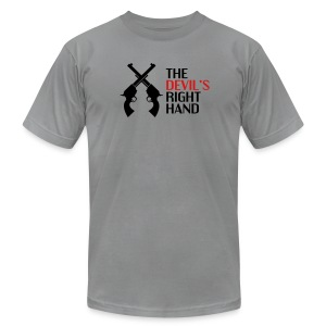 The Devil's Right Hand - Men's T-Shirt by American Apparel
