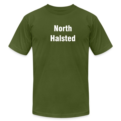North Halsted - Men's Fine Jersey T-Shirt