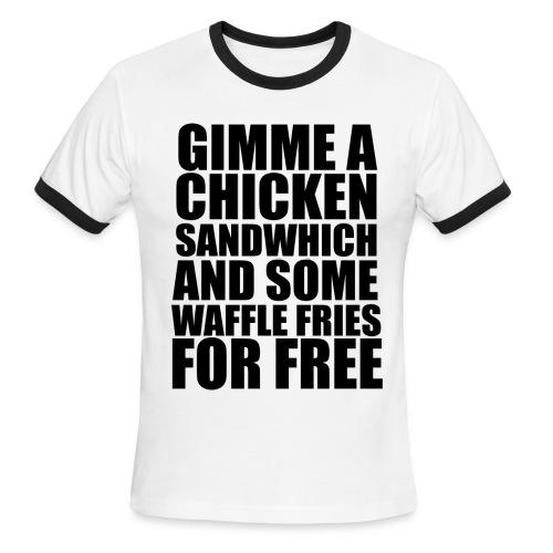 Unforgivable (M) - Men's Ringer T-Shirt