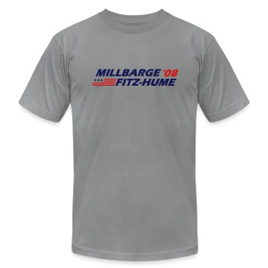Millbarge - Fitz-Hume 2008 - Men's T-Shirt by American Apparel