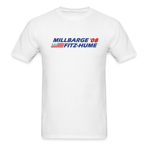 Millbarge - Fitz-Hume 2008 - Men's T-Shirt
