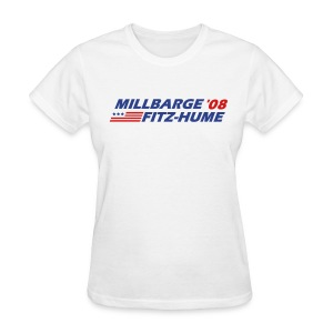Millbarge - Fitz-Hume 2008 - Women's T-Shirt