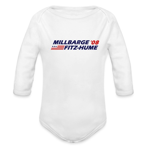 Millbarge - Fitz-Hume 2008 - Organic Long Sleeve Baby Bodysuit