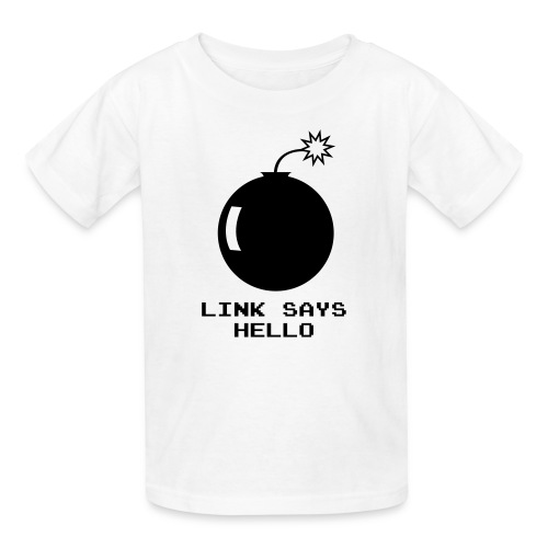 Link Says Hello - Kids' T-Shirt