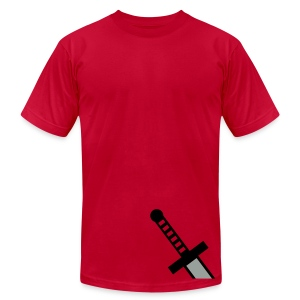 Sword Hilt - Men's T-Shirt by American Apparel