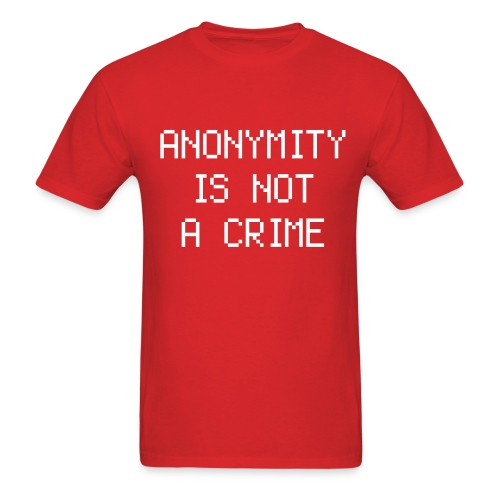 NOT A CRIME - Men's T-Shirt