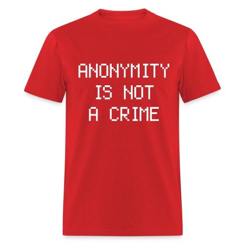 NOT A CRIME - Men's T-Shirt