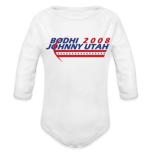 Bodhi - Johnny Utah 2008 - Long Sleeve Baby Bodysuit