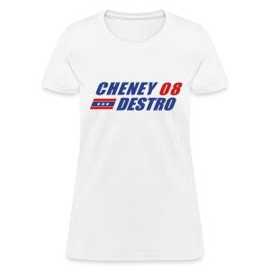 Cheney - Destro 2008 - Women's T-Shirt