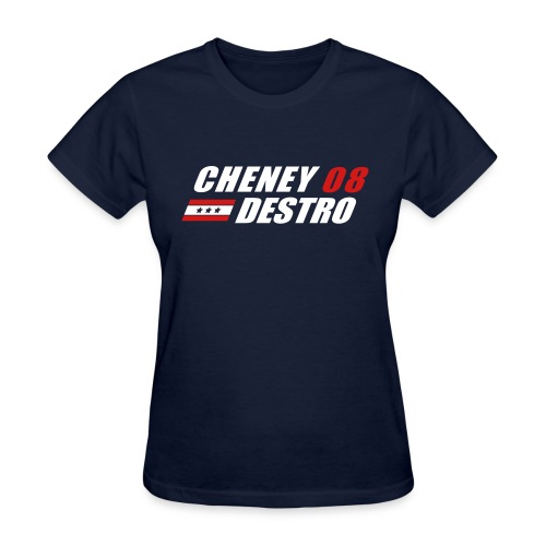 Cheney - Destro 2008 - Women's T-Shirt