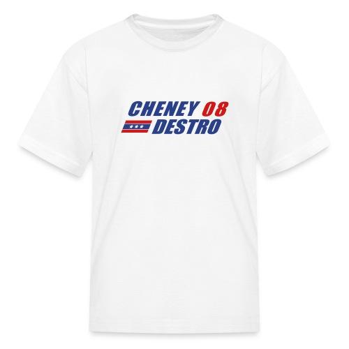 Cheney - Destro 2008 - Kids' T-Shirt