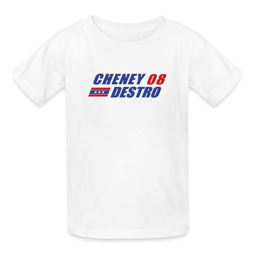 Cheney - Destro 2008 - Kids' T-Shirt