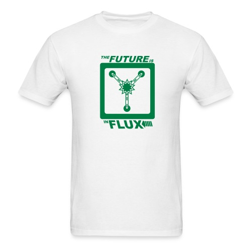 The Future is in Flux - Men's T-Shirt