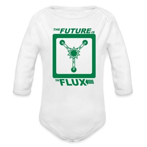 The Future is in Flux - Organic Long Sleeve Baby Bodysuit