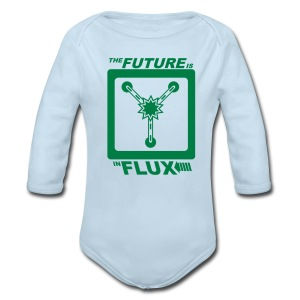 The Future is in Flux - Long Sleeve Baby Bodysuit