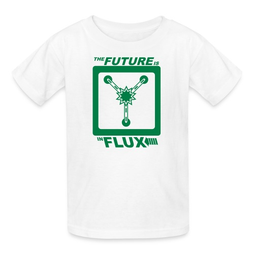 The Future is in Flux - Kids' T-Shirt