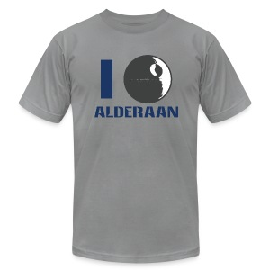 I (DS) Alderaan - Men's T-Shirt by American Apparel