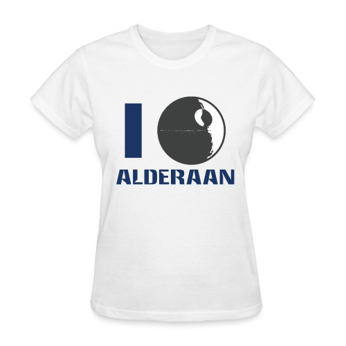 I (DS) Alderaan - Women's T-Shirt