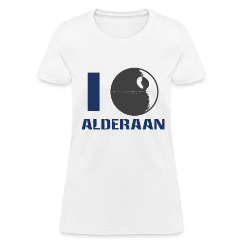 I (DS) Alderaan - Women's T-Shirt