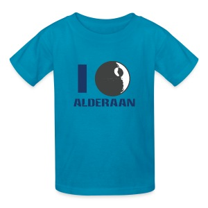 I (DS) Alderaan - Kids' T-Shirt