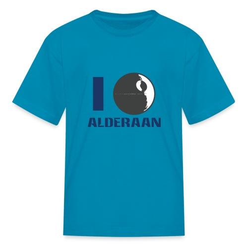 I (DS) Alderaan - Kids' T-Shirt