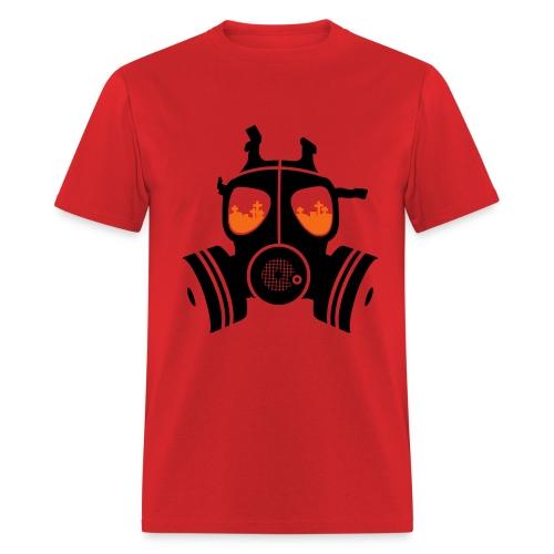 Gas Mask mens tee - Men's T-Shirt