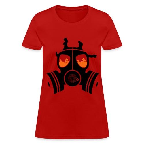 Gas Mask womans tee - Women's T-Shirt