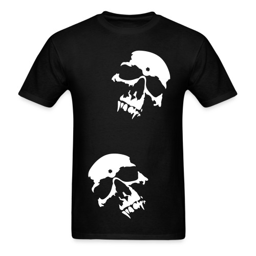 Double Skull Tee - Men's T-Shirt