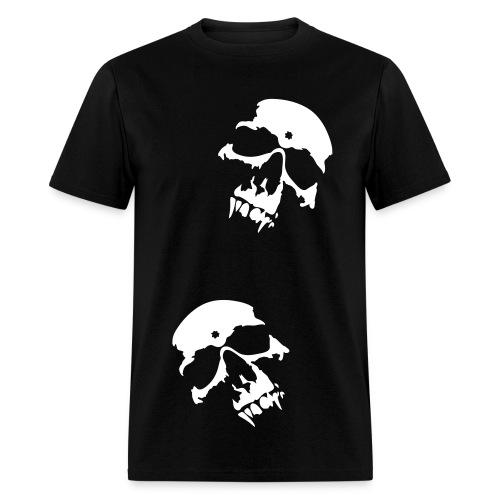 Double Skull Tee - Men's T-Shirt