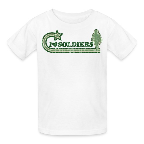 I Luv Soldiers Vintage Children's T-Shirt - Kids' T-Shirt