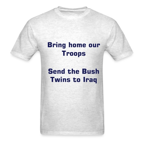 BUSH TWINS - Men's T-Shirt