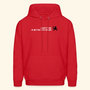 Everything is better with ninjas - Men's Hoodie