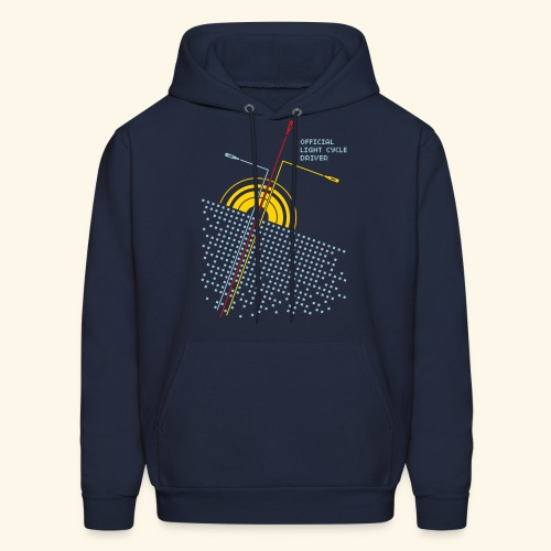Official light cycle driver - Men's Hoodie