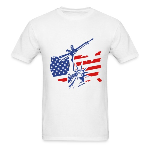 American Militia - Men's T-Shirt