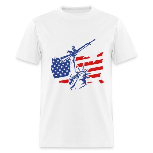 American Militia - Men's T-Shirt